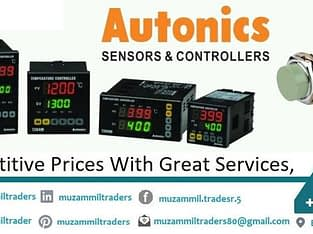 We deal in almost all products in Autonics