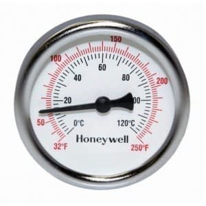 Dial Thermometer, 1/2 Inch NPT