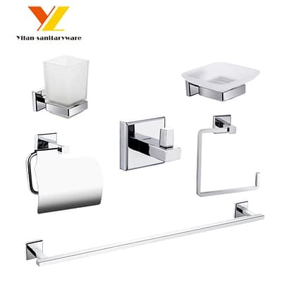 Zinc Alloy Home Bath Accessories Set