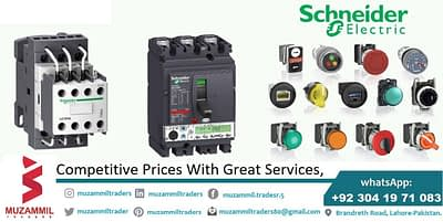 We deal all products in Schneider Electric
